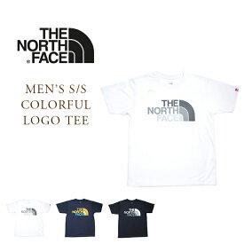 【期間限定30%OFF!】THE NORTH FACE(ザ・ノースフェイス)/#NT32037 MEN'S S/S COLORFUL LOGO TEE(カラフルロゴTEE)