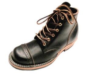 VIBERG(ヴァイバーグ)/#1950 SERVICE BOOTS ROUND TOE(サービスブーツラウンドトウ)/VINTAGE CHROMEXCEL/black