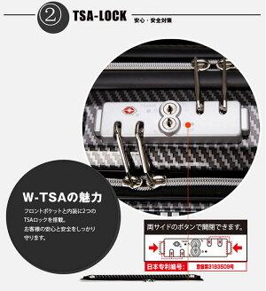 ビジネスキャリースーツケース4輪LEGENDWALKERレジェンドウォーカー)SSサイズ(1泊2泊3泊)新機種6206-44