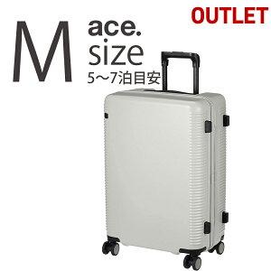 アウトレット スーツケース キャリーケース キャリーバッグ ウォッシュボードZ Mサイズ 60リットル B-AE-04066 ACE