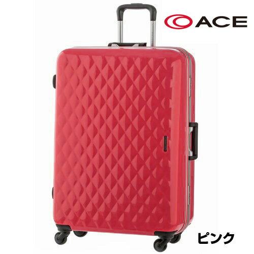 スーツケース キャリーケース キャリーバッグ 旅行用品 アウトレット ACE エース プライベートレーベル かわいい キルティング フラワープリント 品番 AE-05847 P.L.フレミングTR