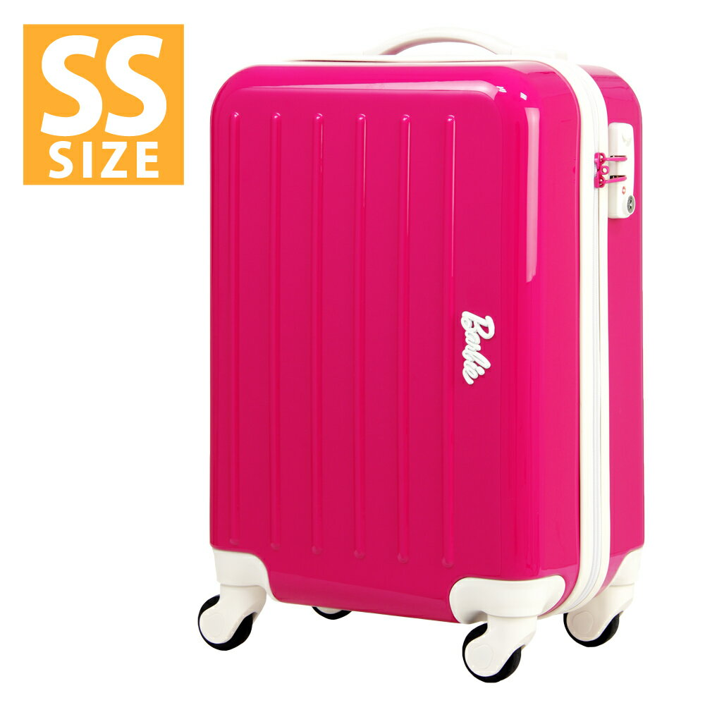 アウトレット スーツケース キャリーケース キャリーバッグ ハードケース 旅行鞄 小型 SSサイズ 機内持ち込み エース バービー AE-06091
