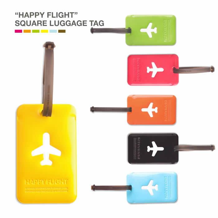 ALIFE アリフ スーツケース キャリーケース キャリーバッグタグ ラゲージタグ スクエアラゲージタグ ラゲージネームタグ カラフルな6色 square luggage tag SNCF-043