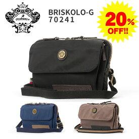 【20%OFF】【無料ラッピング】 オロビアンコ orobianco ビジネスバッグ ボディバッグ イタリア製 就職祝い メンズ レザー 本革 ナイロン 正規品 おしゃれ BRISKOLO-G 01 orobianco-bri