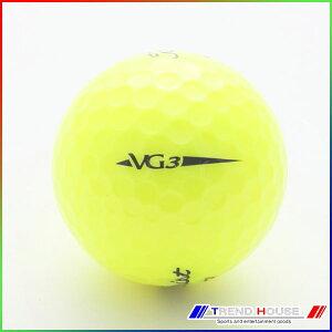 新品未使用タイトリストVG3イエローオーバーランボール12球1ダース箱なしアウトレットTitleist