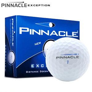 新品未使用ピナクルエクセプションオーバーランボール12球1ダース箱なしアウトレットPinnacleExceptionWhiteゴールドGold