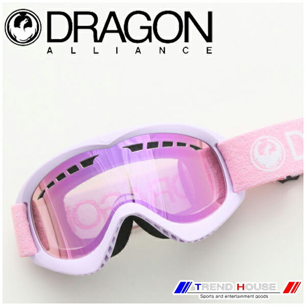 ドラゴン ゴーグル DXS Light Pink/Pink Ion 722-6337 DRAGON