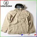 ボルコム 2015 メンズジャケット MAILS INS JKT KHA/M G0451406 VOLCOM