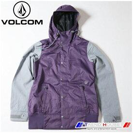ボルコム レディースジャケット STAVE JKT H0651607-PUR-M VOLCOM