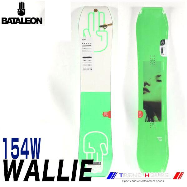 ソールカラー指定可 18-19モデル バタレオン ウォーリー ワイド Green/154W メンズ BATALEON WALLIE WIDE ジブ・パーク・フリースタイル