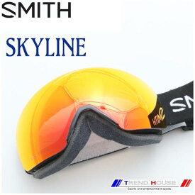 スミス ゴーグル スカイライン アジアンF SKYLINE ASIAN FIT BLACK/CP EVERYDAY RED MIRROR メンズ SMITH