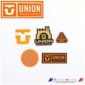 2019 ユニオン ロゴステッカー5枚セット (空白) 185040-0 UNION バインディング ビンディング