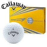 新品未使用キャロウェイヘックスウォーバードホワイトオーバーランボール12球1ダース箱なしアウトレットCALLAWAYHEXWarbird