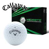 新品未使用キャロウェイヘックスバイトホワイトオーバーランボール12球1ダース箱なしアウトレットCALLAWAYHEXBite