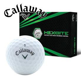 新品未使用 キャロウェイ ヘックス バイト ホワイト オーバーランボール 12球1ダース 箱なしアウトレット CALLAWAY HEX クロム スーパーホット ERC