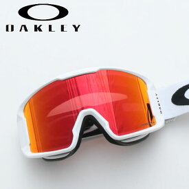 オークリー ゴーグル ラインマイナー XM アジアン プリズム OAKLEY/OO7094-04 LINE MINER XM Matte White(ALT FIT) Prizm Snow Torch Iridium