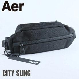 Aer エアー CITY SLING シティスリング AER11010 ボディバッグ ショルダーバッグ メンズ レディース ブランド カジュアル 斜めがけ アウトドア ブラック Black