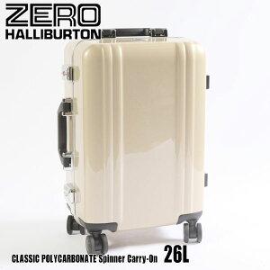 ゼロハリバートン クラシック ポリカーボネイト Spinner Carry-On 26L ZRF219 Gold 80561 CLASSIC POLYCARBONATEスーツケース ZERO HALLIBURTON