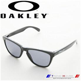 オークリー サングラス フロッグスキン 24-306 FROGSKINS Polished Black/Grey OAKLEY