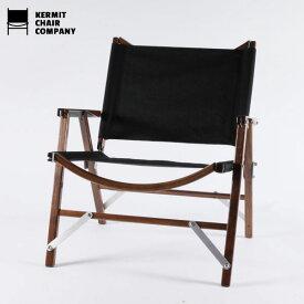 カーミットチェアウォールナット ブラック/Kermit Chair WALNUT[Black]