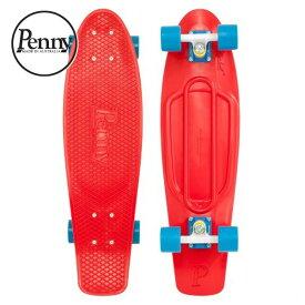 """ペニー クラシックス ニッケル 27"""" レッド PENNY/PNYCOMP27103 CLASSICS Nickel COMPLETE 27"""" Red サーフスケート クルージングボード スケートボード Skateboard スケボー 27インチ"""