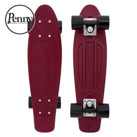 """ペニー コンプリート 22"""" バーガンディ CLASSICS Penny COMPLETE 22"""" BURGUNDY PNYCOMP22240 サーフスケート クルージングボード スケートボード Skateboard スケボー 22インチ"""