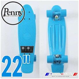 """ペニー コンプリート 22"""" ゲン 2 ブルー サーフスケート クルージングボード スケートボード Skateboard スケボー 22インチ PENNY/PN262 Penny COMPLETE 22"""" Gen 2 Blue"""