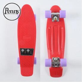 """ペニー コンプリート 22"""" ゲン 2 レッド サーフスケート クルージングボード スケートボード Skateboard スケボー 22インチ PENNY/PN263 Penny COMPLETE 22"""" Gen 2 Red"""