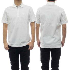 (バーバリー)BURBERRY メンズポロシャツ 8014005_1 ホワイト /2021春夏新作