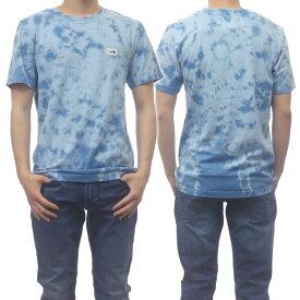(ノースフェイス)THE NORTH FACE メンズクルーネックTシャツ M TIE DYE TONAL TEE / NF0A55SW ブルー