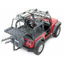 ジープ ラングラー Jeep Wrangler JKラングラー/JKラングラーアンリミテッド カーゴキャリア カーゴラック 【送料無料…