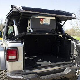 ジープ ラングラー Jeep Wrangler JLラングラーアンリミテッド カーゴキャリア カーゴラック 【送料無料】 フィッシュボーンオフロード インテリアカーゴラック