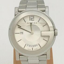 70b311abc7de 中古 GUCCI グッチ 101M メンズ 腕時計 QZ ステンレス SS クォーツ 【トレジャースポット】【中古】
