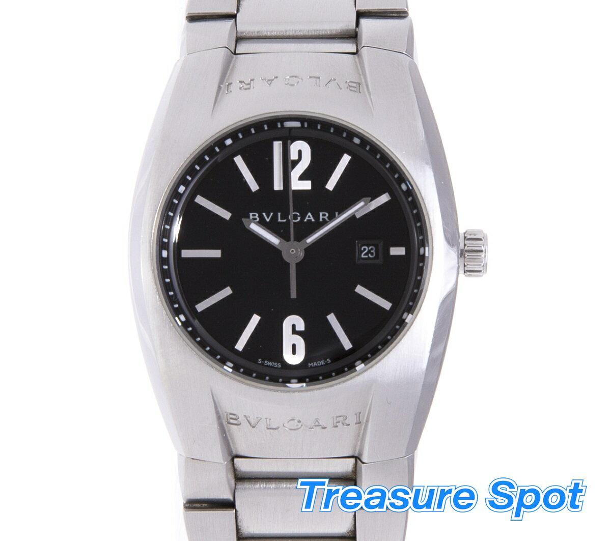 BVLGARI ブルガリ エルゴン EG30S ステンレス SS クォーツ QZ レディース 腕時計【トレジャースポット】【中古】