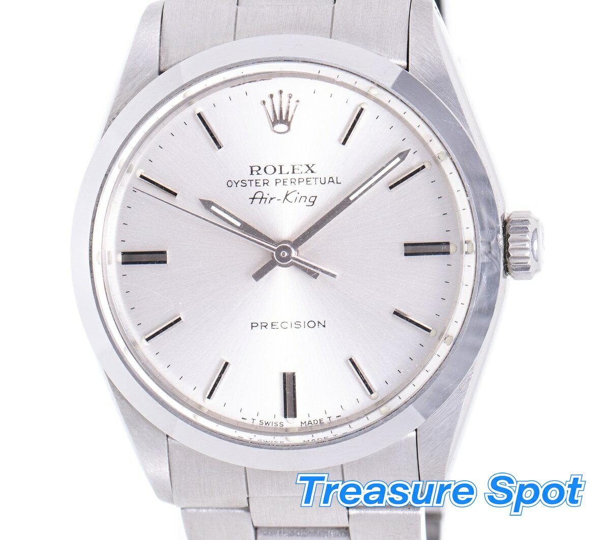 ロレックス ROLEX エアキング 5500 1989年 メンズ 腕時計 送料無料 【トレジャースポット】【中古】