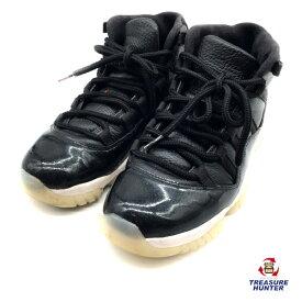 【中古】NIKE Air Jordan ナイキ エアジョーダン 11 レトロ 378037-002 ブラック 26cm スニーカー 靴 メンズ 【103019】