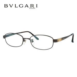 ブルガリ メガネフレーム おしゃれ老眼鏡 PC眼鏡 スマホめがね 伊達メガネ リーディンググラス 眼精疲労 BVLGARI 眼鏡 BV2076TK 4019 52サイズ ダークブラウン メンズ レディース ダテメガネ 紫外線