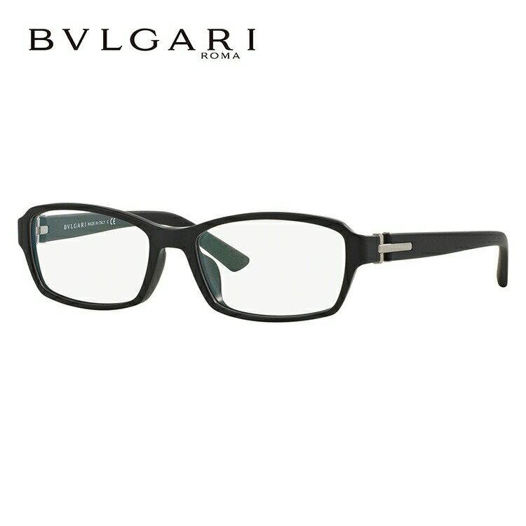 ブルガリ メガネフレーム 伊達メガネ アジアンフィット BVLGARI BV3025D 5313 56サイズ 国内正規品 スクエア ユニセックス メンズ レディース