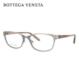 ボッテガヴェネタ メガネフレーム おしゃれ老眼鏡 PC眼鏡 スマホめがね 伊達メガネ リーディンググラス 眼精疲労 BOTTEGA VENETA BV276 4FE 54サイズ スクエア ユニセックス メンズ レディース