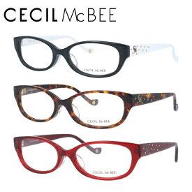 セシルマクビー メガネフレーム おしゃれ老眼鏡 伊達メガネ リーディンググラス 眼精疲労 CECIL McBEE 伊達 眼鏡 CMF7019 全4カラー レディース ファッションメガネ