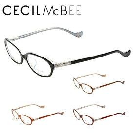 セシルマクビー メガネフレーム おしゃれ老眼鏡 PC眼鏡 スマホめがね 伊達メガネ リーディンググラス 眼精疲労 CECIL McBEE 伊達 眼鏡 CMF7021 全4カラー レディース ファッションメガネ