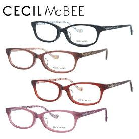 セシルマクビー メガネフレーム おしゃれ老眼鏡 PC眼鏡 スマホめがね 伊達メガネ リーディンググラス 眼精疲労 CECIL McBEE 伊達 眼鏡 CMF7023 全4カラー レディース ファッションメガネ