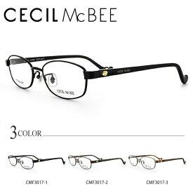 セシルマクビー メガネ フレーム CECIL McBEE 伊達 眼鏡 CMF3017 全3カラー レディース ブランドメガネ ダテメガネ ファッションメガネ 伊達レンズ無料(度なし・UVカット)