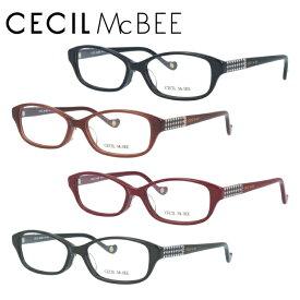 セシルマクビー メガネフレーム おしゃれ老眼鏡 PC眼鏡 スマホめがね 伊達メガネ リーディンググラス 眼精疲労 CECIL McBEE 伊達 眼鏡 CMF7032 全4カラー 52 アジアンフィット レディース