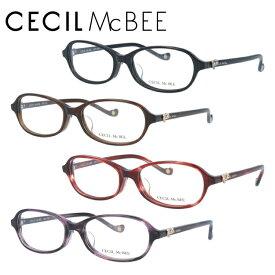 セシルマクビー メガネフレーム おしゃれ老眼鏡 PC眼鏡 スマホめがね 伊達メガネ リーディンググラス 眼精疲労 CECIL McBEE 伊達 眼鏡 CMF7035 全4カラー 51 アジアンフィット レディース