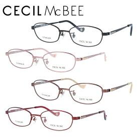 セシルマクビー メガネフレーム おしゃれ老眼鏡 PC眼鏡 スマホめがね 伊達メガネ リーディンググラス 眼精疲労 CECIL McBEE CMF3036 全4カラー 50サイズ オーバル レディース