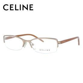 セリーヌ メガネフレーム おしゃれ老眼鏡 PC眼鏡 スマホめがね 伊達メガネ リーディンググラス 眼精疲労 CELINE VC1251M 0A39 53サイズ オーバル レディース ブラゾン アイコン ロゴ