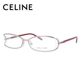 セリーヌ メガネフレーム おしゃれ老眼鏡 PC眼鏡 スマホめがね 伊達メガネ リーディンググラス 眼精疲労 CELINE VC1409M 0SBN 54サイズ スクエア レディース ファッションメガネ