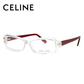 セリーヌ メガネフレーム 【スクエア】 おしゃれ老眼鏡 PC眼鏡 スマホめがね 伊達メガネ リーディンググラス 眼精疲労 レギュラーフィット CELINE VC1580 0P79 53サイズ レディース ブラゾン マカダム柄 アイコン ロゴ ファッションメガネ