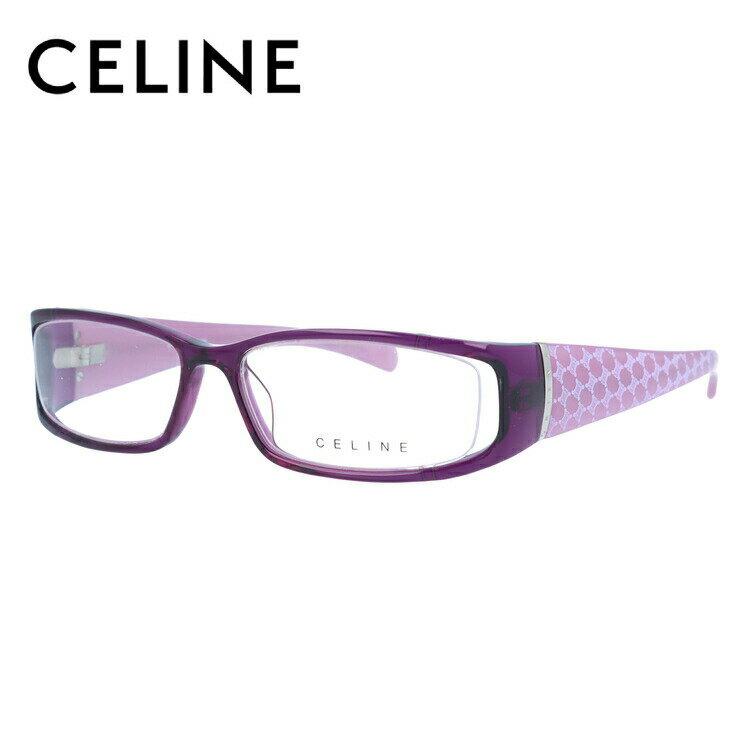 セリーヌ メガネ フレーム CELINE 伊達 眼鏡 VC1613M 52 06SC レディース ブランドメガネ ダテメガネ ファッションメガネ 伊達レンズ無料(度なし・UVカット)